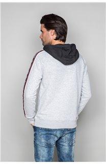 Sweatshirt LOOK Man W19533 (49986) - DEELUXE-SHOP