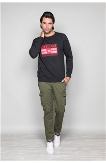 Sweatshirt RONALDO Man W19538 (50009) - DEELUXE-SHOP
