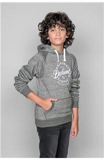 Sweatshirt TRENTON Boy W19547B (50023) - DEELUXE-SHOP