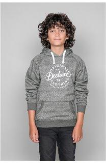 Sweatshirt TRENTON Boy W19547B (50025) - DEELUXE-SHOP