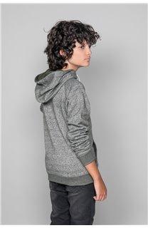 Sweatshirt TRENTON Boy W19547B (50026) - DEELUXE-SHOP
