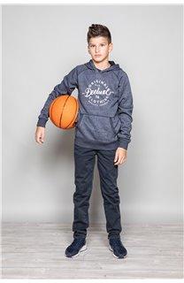 Sweatshirt TRENTON Boy W19547B (50029) - DEELUXE-SHOP