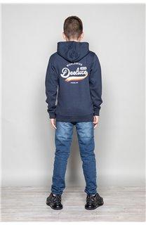 Sweatshirt OSKARI Boy W19551B (50059) - DEELUXE-SHOP