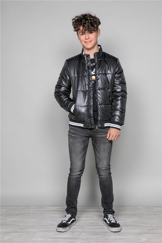 Puffy Jacket Puffy Jacket FLAME Boy W19618B (50234) - DEELUXE-SHOP