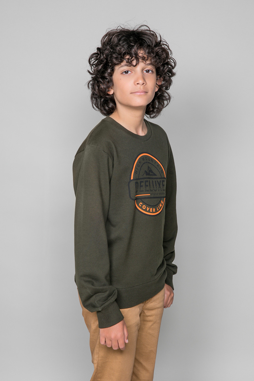 Sweatshirt NILS Boy W19549B (50297) - DEELUXE-SHOP