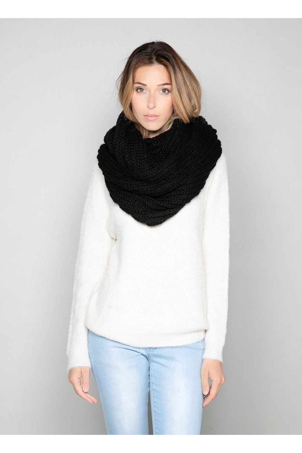 Scarf SNOODY Woman W19910W (50332) - DEELUXE-SHOP