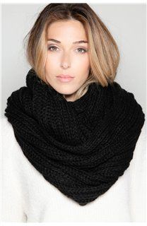 Scarf SNOODY Woman W19910W (50333) - DEELUXE-SHOP