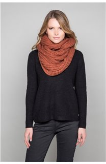 Scarf SNOODY Woman W19910W (50334) - DEELUXE-SHOP