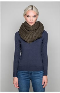 Scarf SNOODY Woman W19910W (50336) - DEELUXE-SHOP