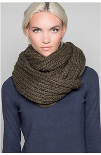 Scarf SNOODY Woman W19910W (50337) - DEELUXE-SHOP