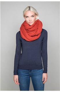 Scarf SNOODY Woman W19910W (50340) - DEELUXE-SHOP