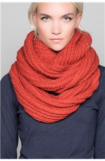 Scarf SNOODY Woman W19910W (50341) - DEELUXE-SHOP