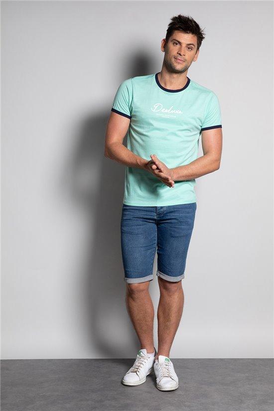 T-shirt T-shirt HYLTER Man S20110 (50517) - DEELUXE-SHOP