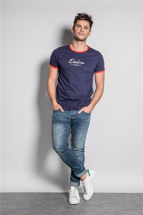 T-shirt HYLTER Man S20110 (50517) - DEELUXE-SHOP