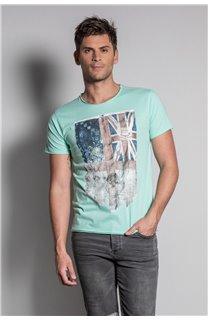 T-Shirt FLAGY Homme S20116 (50639) - DEELUXE