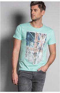T-Shirt FLAGY Homme S20116 (50641) - DEELUXE