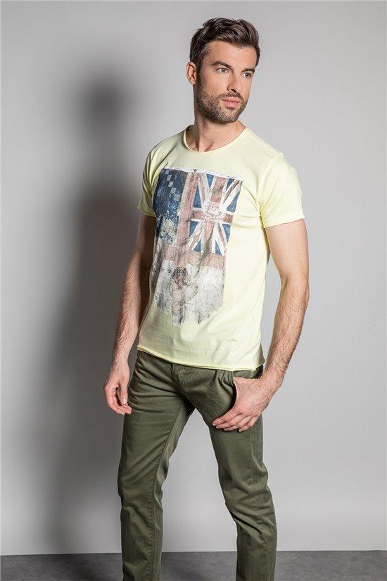 T-shirt FLAGY Man S20116 (50637) - DEELUXE-SHOP