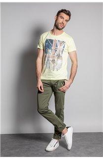 T-Shirt FLAGY Homme S20116 (50643) - DEELUXE