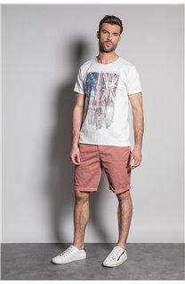 T-Shirt FLAGY Homme S20116 (50647) - DEELUXE
