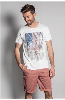 T-Shirt FLAGY Homme S20116 (50648) - DEELUXE