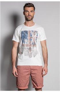 T-Shirt FLAGY Homme S20116 (50649) - DEELUXE