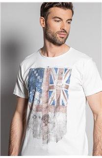 T-Shirt FLAGY Homme S20116 (50651) - DEELUXE