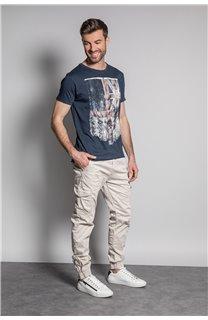T-Shirt FLAGY Homme S20116 (50653) - DEELUXE