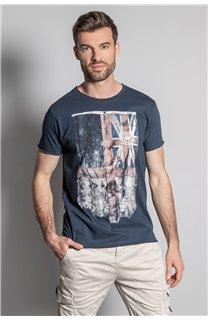 T-Shirt FLAGY Homme S20116 (50654) - DEELUXE
