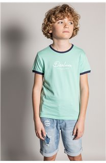 T-shirt HYLTER Boy S20110B (51017) - DEELUXE-SHOP