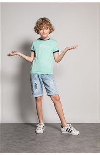 T-shirt HYLTER Boy S20110B (51018) - DEELUXE-SHOP