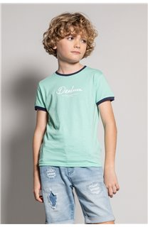 T-shirt HYLTER Boy S20110B (51019) - DEELUXE-SHOP