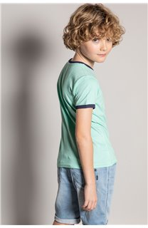 T-shirt HYLTER Boy S20110B (51020) - DEELUXE-SHOP
