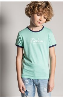 T-shirt HYLTER Boy S20110B (51021) - DEELUXE-SHOP