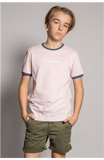 T-shirt HYLTER Boy S20110B (51024) - DEELUXE-SHOP