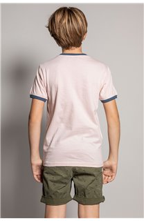 T-shirt HYLTER Boy S20110B (51025) - DEELUXE-SHOP
