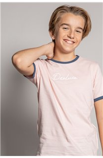 T-shirt HYLTER Boy S20110B (51026) - DEELUXE-SHOP