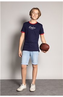 T-shirt HYLTER Boy S20110B (51027) - DEELUXE-SHOP