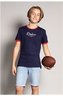 T-shirt HYLTER Boy S20110B (51029) - DEELUXE-SHOP