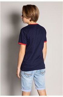T-shirt HYLTER Boy S20110B (51030) - DEELUXE-SHOP