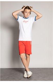 T-shirt HYLTER Boy S20110B (51032) - DEELUXE-SHOP