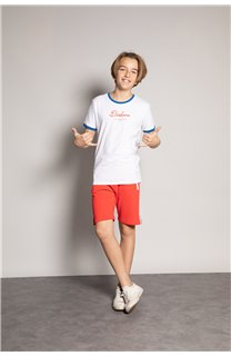 T-shirt HYLTER Boy S20110B (51033) - DEELUXE-SHOP
