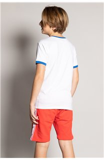 T-shirt HYLTER Boy S20110B (51035) - DEELUXE-SHOP