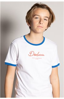 T-shirt HYLTER Boy S20110B (51036) - DEELUXE-SHOP