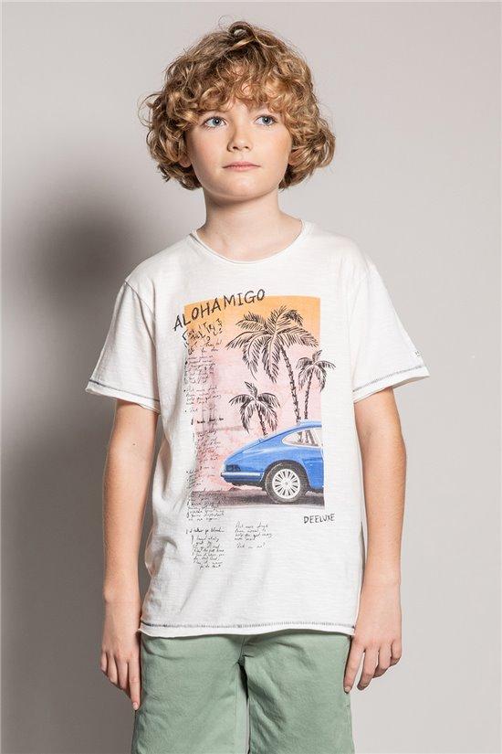 T-shirt T-shirt ALDO Boy S20144B (51058) - DEELUXE-SHOP