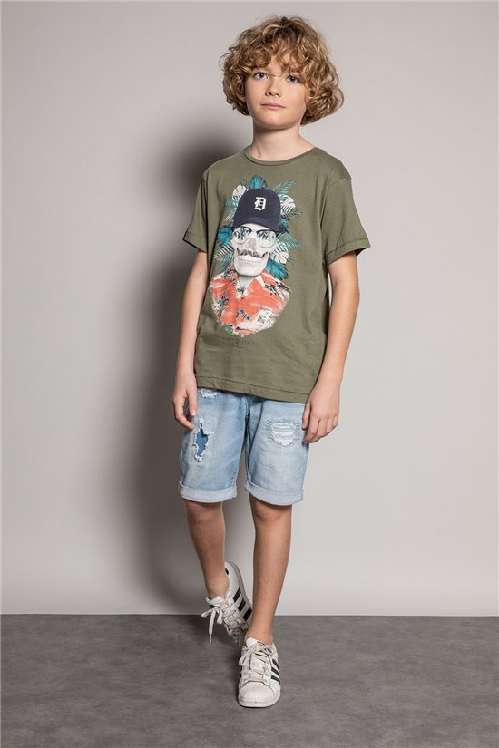 T-shirt T-shirt DOBY Boy S20145B (51067) - DEELUXE-SHOP