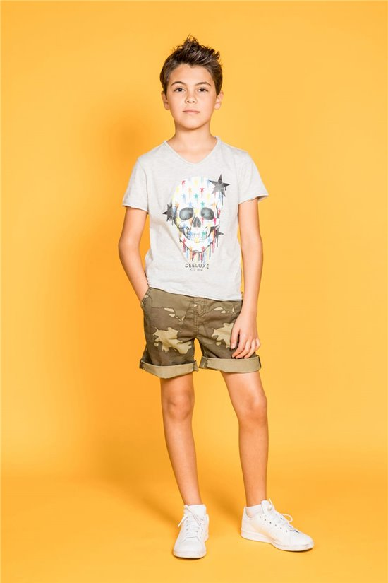 T-shirt T-shirt DRIPPY Boy S20181B (51082) - DEELUXE-SHOP