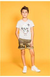 T-shirt DRIPPY Boy S20181B (51082) - DEELUXE-SHOP