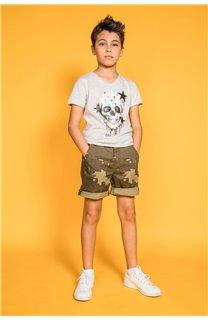 T-shirt DRIPPY Boy S20181B (51083) - DEELUXE-SHOP