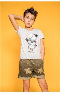T-shirt DRIPPY Boy S20181B (51084) - DEELUXE-SHOP