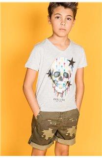 T-shirt DRIPPY Boy S20181B (51086) - DEELUXE-SHOP